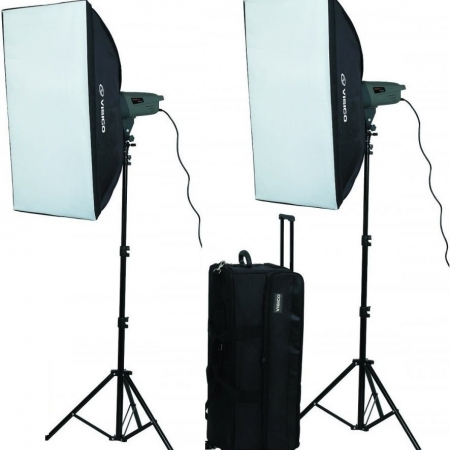 Visico VE-300 PLUS SOFTBOX KIT