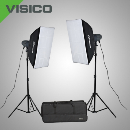 Visico VL-200 PLUS SOFTBOX KIT