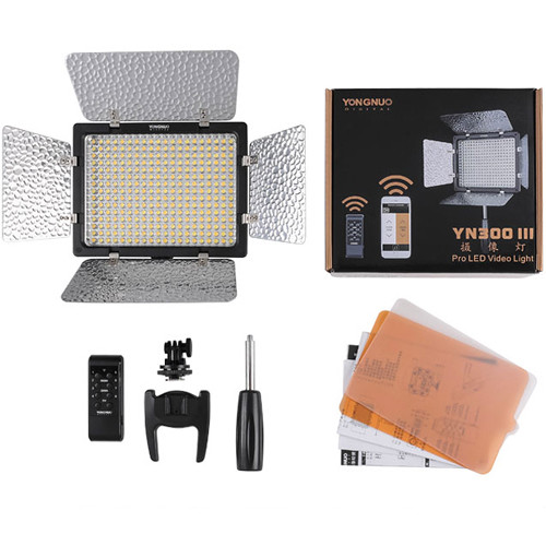 Yongnuo YN-300 III LED Variable-Color On-Camera Light - 4