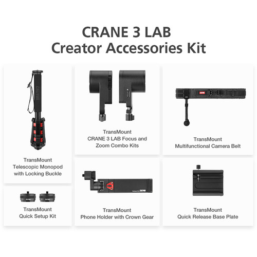 Zhiyun-Tech Crane 3 Lab Creator Accessories Kit - 2