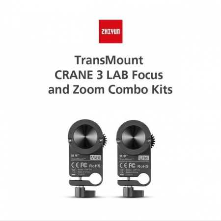 Zhiyun-Tech TransMount Crane 3 LAB Focus and Zoom Combo Kits