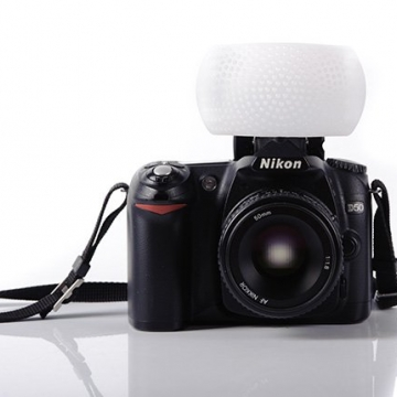 Phottix Pop-up Flash Diffuser (white dome)-1